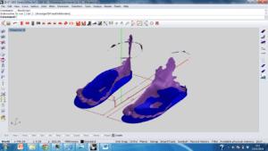 Screenshot zooltekensoftware Footmill